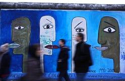 Galleri för östlig sida i Berlin, Tyskland Arkivfoton