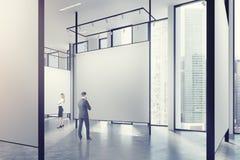 Galleri i en vind, folk Arkivbild