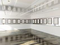 Galleri med tomma bilder vektor illustrationer