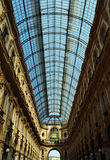 Galleri Milan Royaltyfri Bild