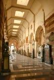 Galleri på den monumentala kyrkogården, Milan Royaltyfria Bilder