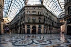 Galleri Principe Umberto I Arkivfoto