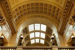 Galleria ad ovest del Campidoglio dello stato di Wisconsin fotografie stock libere da diritti