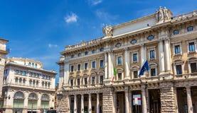Galleria Alberto Sordi στη Ρώμη, Ιταλία Στοκ εικόνα με δικαίωμα ελεύθερης χρήσης