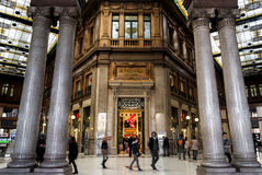 Galleria Alberto sordo (Roma) Fotografie Stock