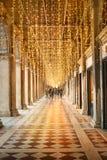 Galleria aperta a Venezia immagine stock
