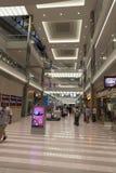 Galleria av Amerika som shoppar område i Bloomington, MN på Juli 06, 201 Arkivbild