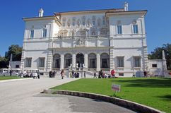 Galleria Borghese royalty free stock photography