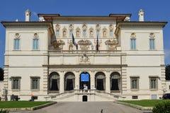 Galleria Borghese del chalet Fotografía de archivo libre de regalías