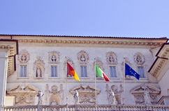 Galleria Borghese facade Royalty Free Stock Photo
