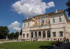 Galleria Borghese in Rome, Italy. royalty free stock photography