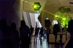 Galleria 04 Carsten Nicolai, tele, Berlino 07 2018 di Berlinischer immagini stock