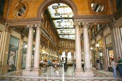 Galleria Colonna - Alberto Sordi i Rome Italien Arkivbild