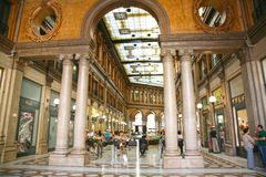 Galleria Colonna - Alberto Sordi in Rome Italy Stock Photography