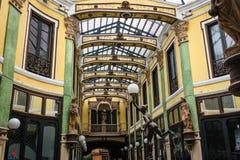 Galleria commerciale a Valladolid Immagini Stock Libere da Diritti