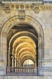 Galleria con le colonne, opera di Parigi Fotografia Stock Libera da Diritti