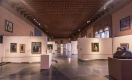 Galleria d ` Arte Moderna Achille Forti, Verona, Włochy zdjęcie royalty free