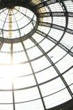 Galleria (de koepel) stock afbeeldingen