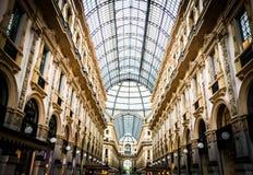 Galleria de Milano Imagen de archivo libre de regalías