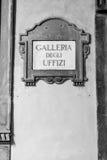 Galleria degli Uffizi Fotografia Stock