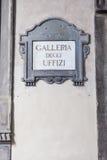 Galleria degli Uffizi Zdjęcie Royalty Free
