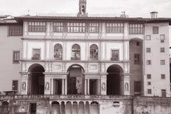 Galleria Degli Uffizi, Florence; Italy Stock Photos