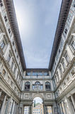 Galleria degli Uffizi museum in Florence, Italy Stock Photos