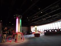 Galleria dei bambini nel museo di scienza di Hong Kong Fotografia Stock