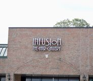 Galleria dei capelli di infusione, Arlington TN immagine stock