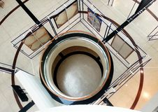 Galleria dei cerchi Fotografie Stock Libere da Diritti