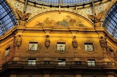 Galleria del Corso, Milaan stock foto's