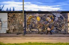 Galleria del lato est Muro di Berlino , La Germania Fotografie Stock Libere da Diritti