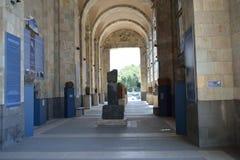 Galleria del museo di storia Fotografia Stock Libera da Diritti