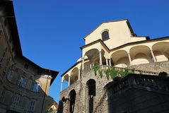 Galleria della chiesa Immagine Stock Libera da Diritti
