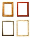 Galleria della decorazione di arte del blocco per grafici di legno Fotografie Stock