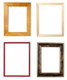 Galleria della decorazione di arte del blocco per grafici di legno Immagine Stock