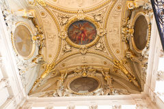 Galleria della pittura alla feritoia Parigi Fotografia Stock