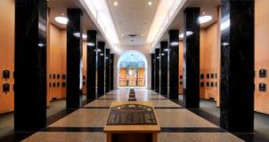 Galleria della placca del hall of fame immagine stock