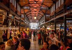 Galleria di acquisto del San famoso Miguel Market a Madrid Fotografia Stock Libera da Diritti
