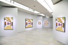 Galleria di arte 3 Fotografia Stock