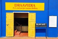 Galleria di arte a Cochin forte immagine stock