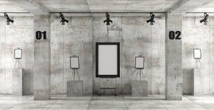 Galleria di arte contemporanea Immagine Stock