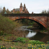Galleria di arte di Kelvingrove e museo, Glasgow Fotografia Stock