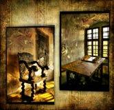 Galleria di arte medioevale Fotografia Stock
