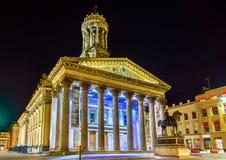 Galleria di arte moderna a Glasgow immagini stock
