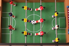 Galleria di calcio-balilla di sport Fotografia Stock