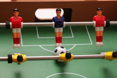 Galleria di calcio-balilla di sport Fotografie Stock