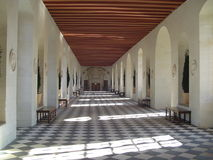 Galleria di Chenonceau Immagine Stock