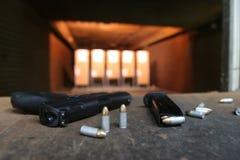 Galleria di fucilazione. fotografie stock libere da diritti