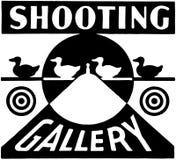 Galleria di fucilazione Fotografie Stock Libere da Diritti
